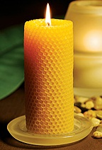 De todo un poco velas de miel - Velas de miel ...