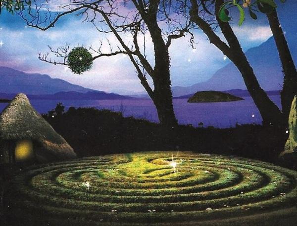 El laberito es uno de los simbolos mas importantes de la cultura Celta