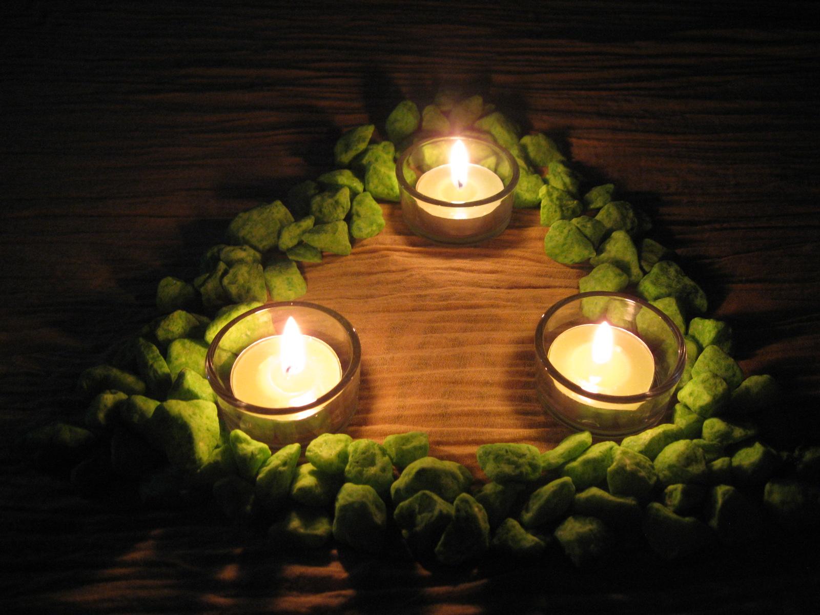 Encender velas como se usan las velas en la magia velas - Rituales para la buena suerte ...