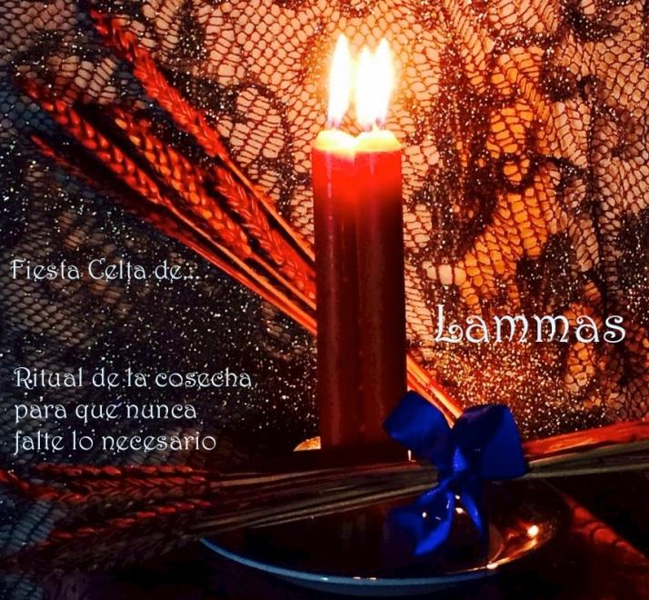 Ritual Celta de Lammas en Luna Azul