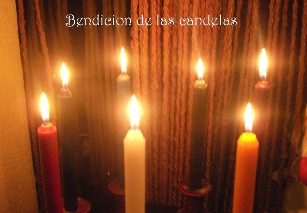 Resultado de imagen para BENDICIÓN DE LAS CANDELAS