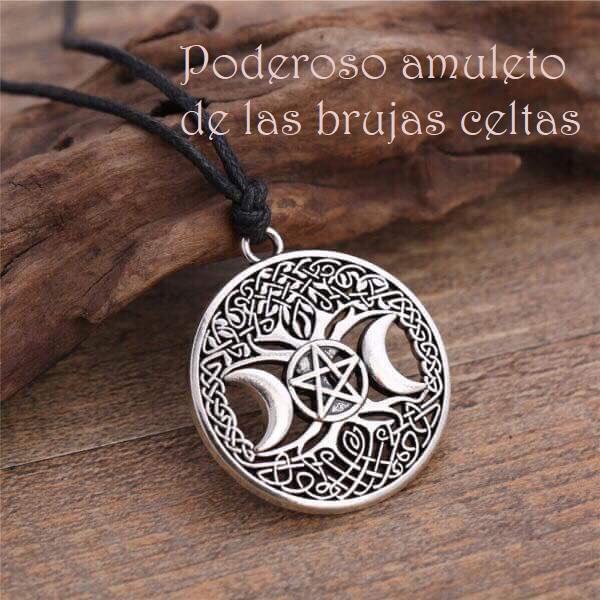 Poderoso Amuleto de las Brujas Celta