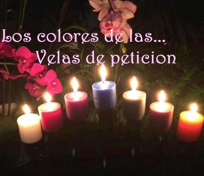 Colores de las Velas de Petición