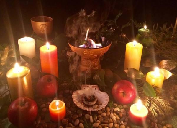 Ritual de Otoño Celta